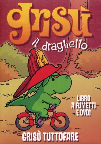 Dvd Grisu' Il Draghetto Vol 11 - Grisu' Tuttofare (Dvd+Libro) NUOVO SIGILLATO, EDIZIONE DEL 14/01/2009 SUBITO DISPONIBILE