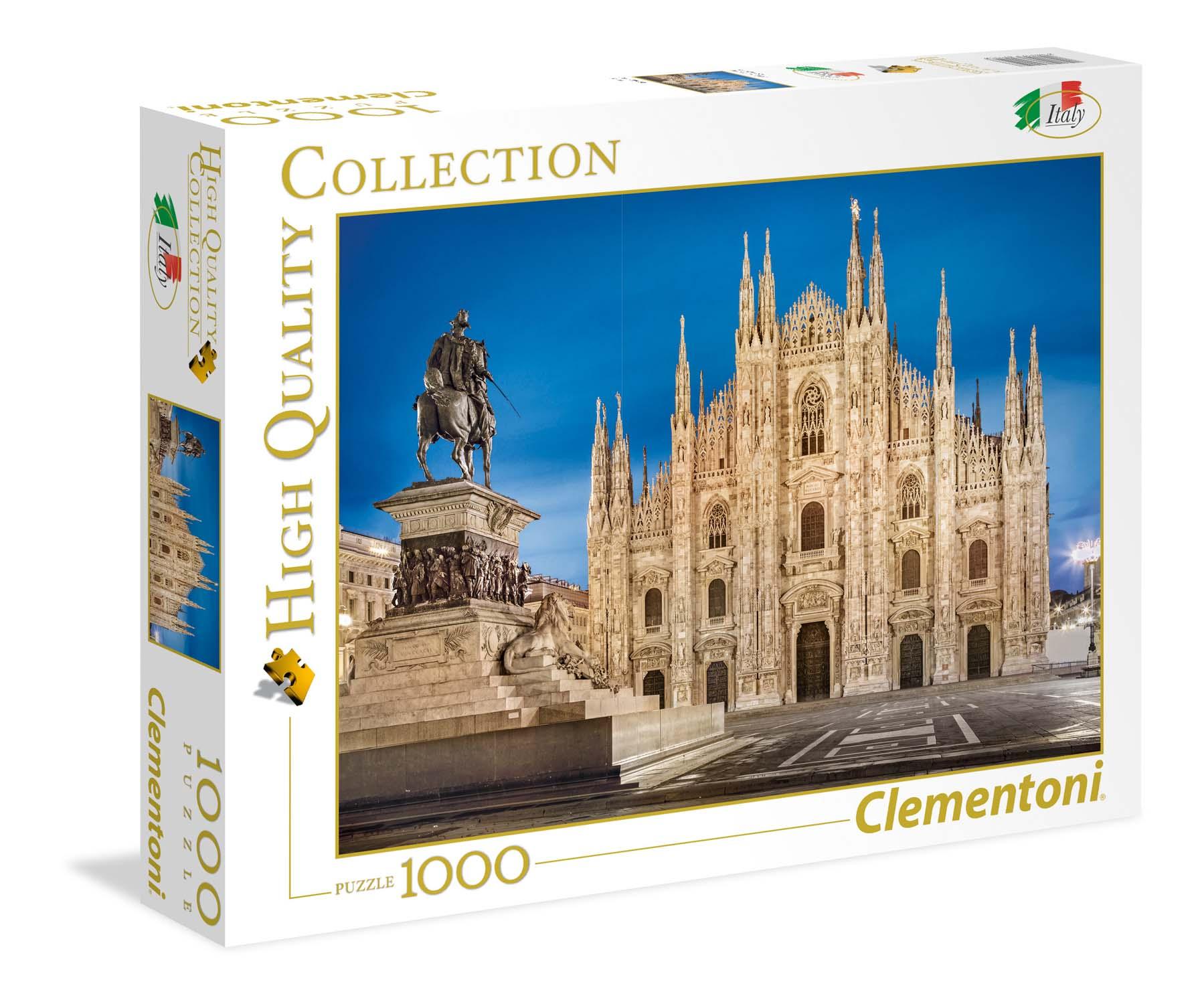 Merchandising Puzzle 1000 Pz - High Quality Collection - Italia - Milan NUOVO SIGILLATO, EDIZIONE DEL 07/03/2018 DISPO ENTRO UN MESE, SU ORDINAZIONE