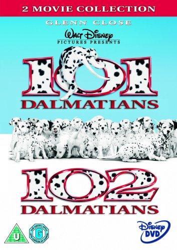 Dvd 101 Dalmatians / 102 Dalmatians (2 Dvd) [Edizione: Regno Unito] NUOVO SIGILLATO, EDIZIONE DEL 22/09/2008 SUBITO DISPONIBILE