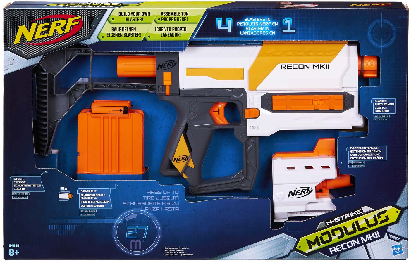 5010994937508 nerf modulus recon mk ii neuf original ebay. Black Bedroom Furniture Sets. Home Design Ideas